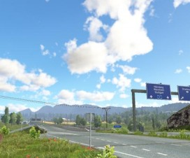 Realistic Lighting v2.4 – Improved skyboxes and weather | ETS 2 Mods