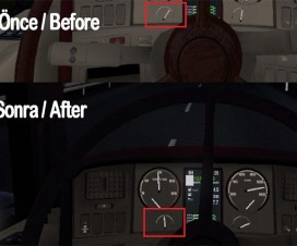Realistic Water Temp Gauge | ETS 2 Mods