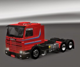 Scania 113 + 2 Trailers | ETS 2 Mods