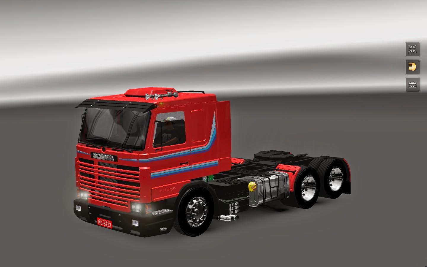 scania 113 2 trailers ets2 mods