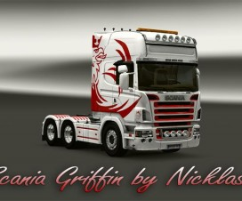 Scania Skin Griffin | ETS 2 Mods