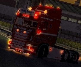 Scania R500 Ronny Ceusters | ETS 2 Mods