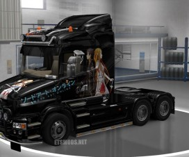 Sword Art Skin Scania T Series | ETS 2 Mods