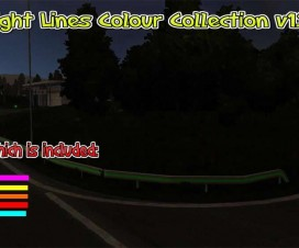 Straight Lines Color Collection v1.1 | ETS 2 Mods