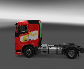 The Colorful 2012 Volvo Truck v1.16.x | ETS 2 Mods