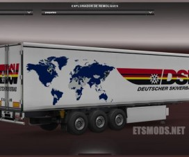 New DSV Trailer | ETS 2 Mods
