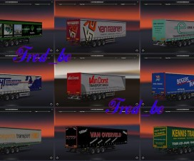 Trailer Skin Pack from Holland 1.16.x | ETS 2 Mods
