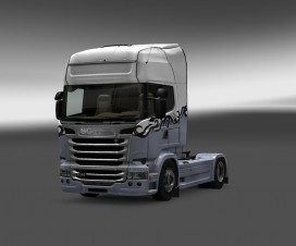 Tribal skin for all trucks | ETS 2 Mods