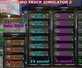 Tuning Horn Pack | ETS 2 Mods