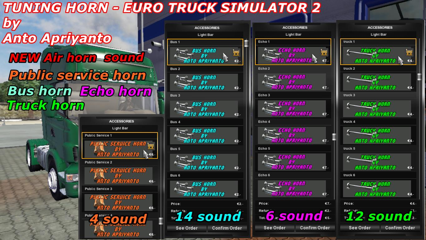 Tuning Horn Pack Ets2 Mods