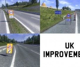 UK Improvement Mod v2 | ETS 2 Mods