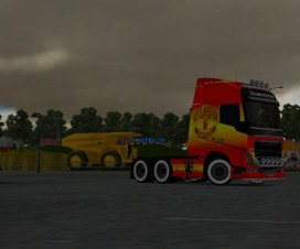 Volvo FH 2012 Manchester United Champions Skin | ETS 2 Mods