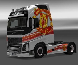 Volvo FH 2012 Manchester United Skin | ETS 2 Mods