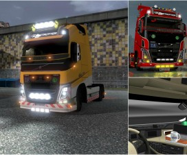 Volvo FH 2013 by ohaha v18.3.1s | ETS 2 Mods