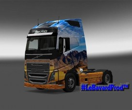 western skin for volvo fh2012 1
