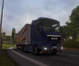 Man TGX Reworked v1.3 | ETS 2 Mods
