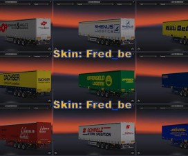 Trailers from Germany 1.16.x | ETS 2 Mods