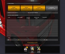 Increased Bank Loan and Lower Rate | ETS 2 Mods