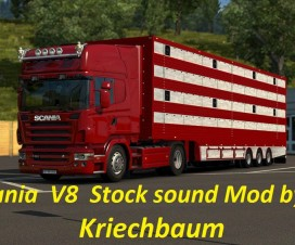 Scania Stock V8 sound
