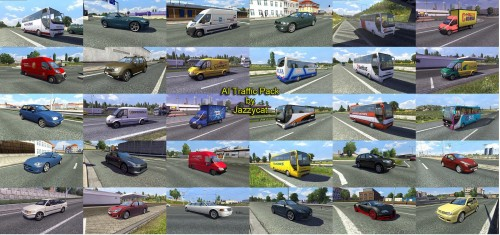 Ai Traffic Pack By Jazzycat V2 5 Ets2 Mods