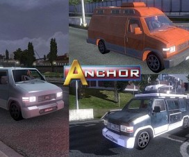 Auto Anchor in Traffic | ETS 2 Mods