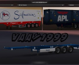 Container Trailers Pack | ETS 2 Mods