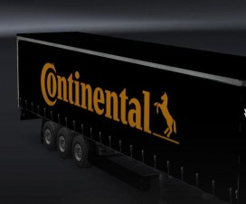 Continental Tire Trailer Skin | ETS 2 Mods