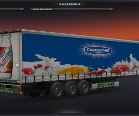 Danone Products | ETS 2 Mods