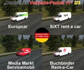 German traffic | ETS 2 Mods