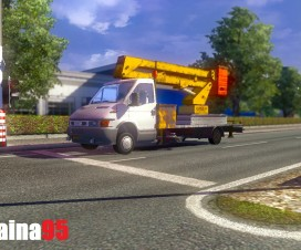 Iveco Daily Service Ai Traffic | ETS 2 Mods
