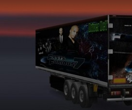 Fast and Furious 7 Trailer Skin   ETS 2 Mods