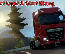 Fast Level & Start Money Cheat 1.17 | ETS 2 Mods