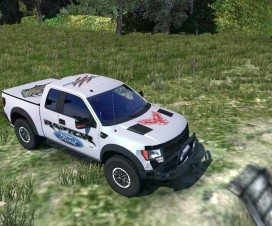 Ford Raptor V2.0 | ETS 2 Mods