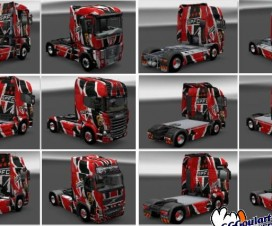 Ggg Skin Mega Skin Spfc All Trucks | ETS 2 Mods