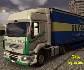 Guy Casset Combo Pack | ETS 2 Mods
