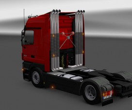 Highpipe for Trucks Update v5.2 | ETS 2 Mods