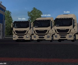 Iveco real cabins alfa version | ETS 2 Mods
