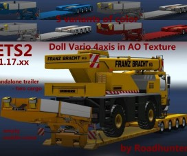 Low loaders in AO Texture v1 | ETS 2 Mods