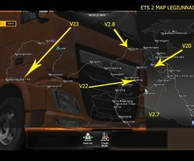 Map Legiunnaire2 v29 | ETS 2 Mods