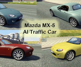 Mazda MX-5 AI Traffic Car | ETS 2 Mods