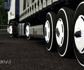 New Turkish Wheels | ETS 2 Mods
