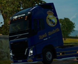 Volvo Real Madrid Skin 1.16.x 1.17.x | ETS 2 Mods