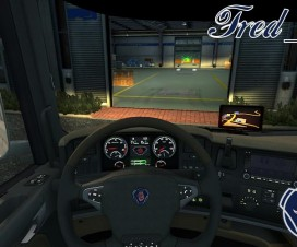 Original Display for all Scania | ETS 2 Mods