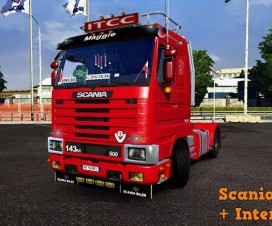 Scania 143M + Interior v2.5 | ETS 2 Mods