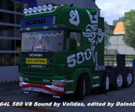 Scania 164L 580 V8 Sound | ETS 2 Mods