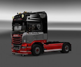 Scania Streamline S.T.M Skin re-edit | ETS 2 Mods