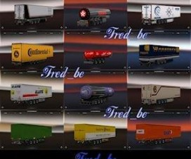 Trailer Pack by Fred_be V2 | ETS 2 Mods