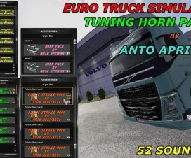 TUNING HORN PACK V2 | ETS 2 Mods
