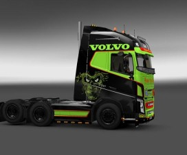 Volvo Skin from hell | ETS 2 Mods