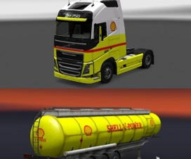 Shell truck+trailer volvo FH 2012 | ETS 2 Mods